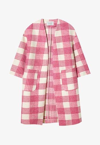 Classic coat - mottled pink