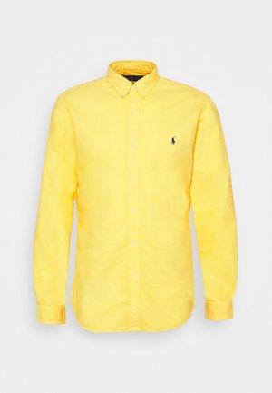 LONG SLEEVE SPORT - Shirt - signal yellow
