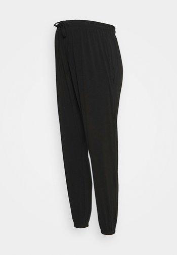 MATERNITY SUPER SOFT HAREM PANT - Kalhoty - black