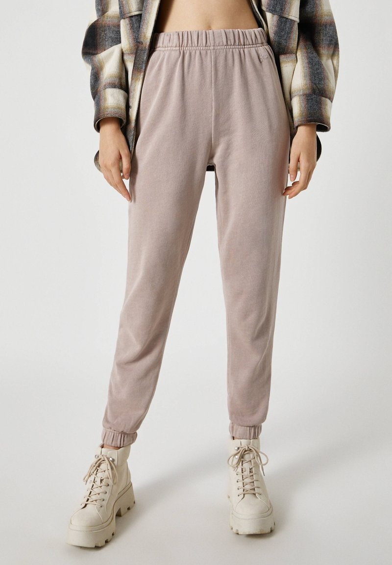 PULL&BEAR - Pantaloni sportivi - beige