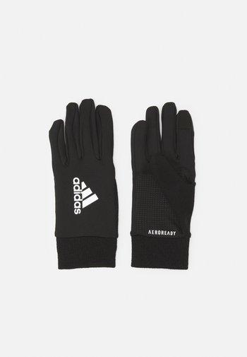 UNISEX - Rękawiczki pięciopalcowe - black/silver