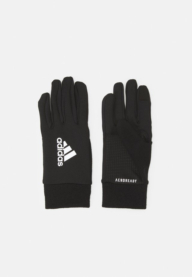 UNISEX - Gloves - black/silver