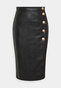 Pinko - MONSONE GONNA - Pencil skirt - black - 0