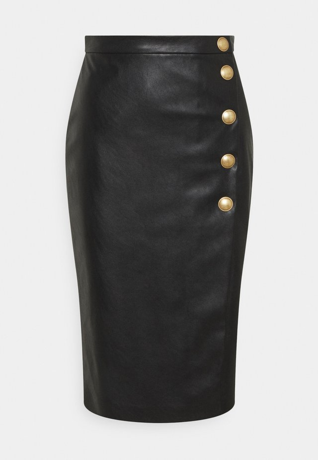MONSONE GONNA - Pencil skirt - black