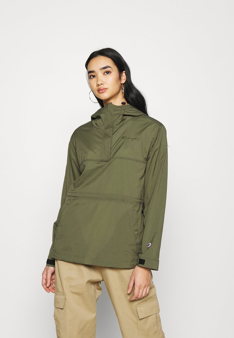 Champion Reverse Weave - JACKET - Windbreaker - olive