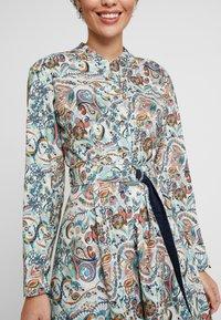 Ivko - DRESS FLORAL PATTERN PRINT - Shirt dress - off-white - 5