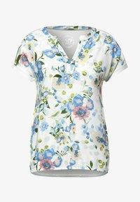 Cecil - Print T-shirt - weiß - 3