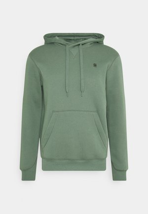 PREMIUM CORE hooded long sleeve - Hoodie - teal grey