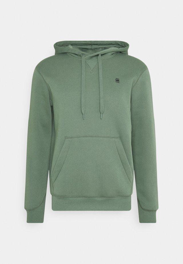 PREMIUM CORE hooded long sleeve - Hoodie - teal grey