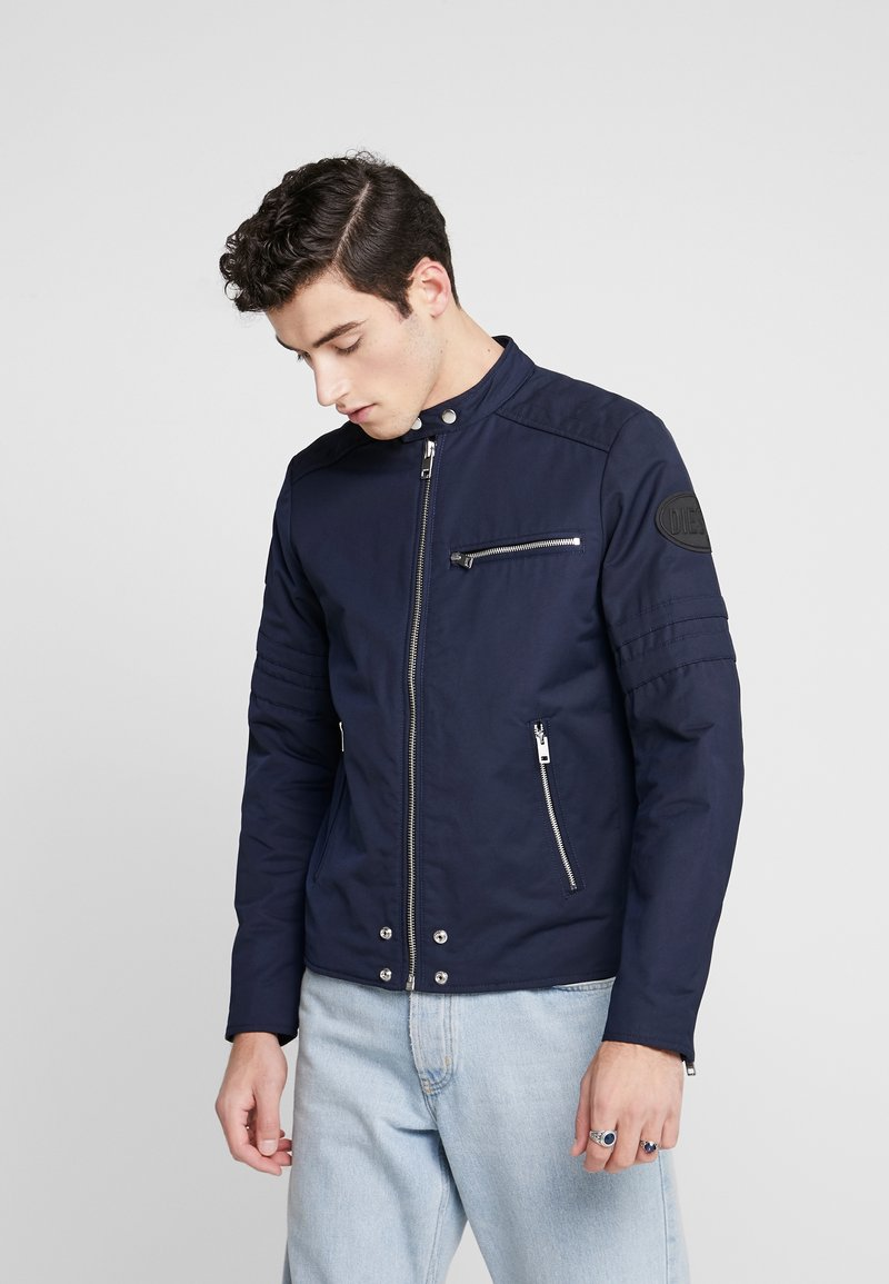 Diesel - J-GLORY JACKET - Summer jacket - dark blue