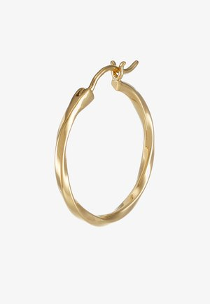 FRANCISCA HOOP SMALL EARRING - Náušnice - gold-coloured