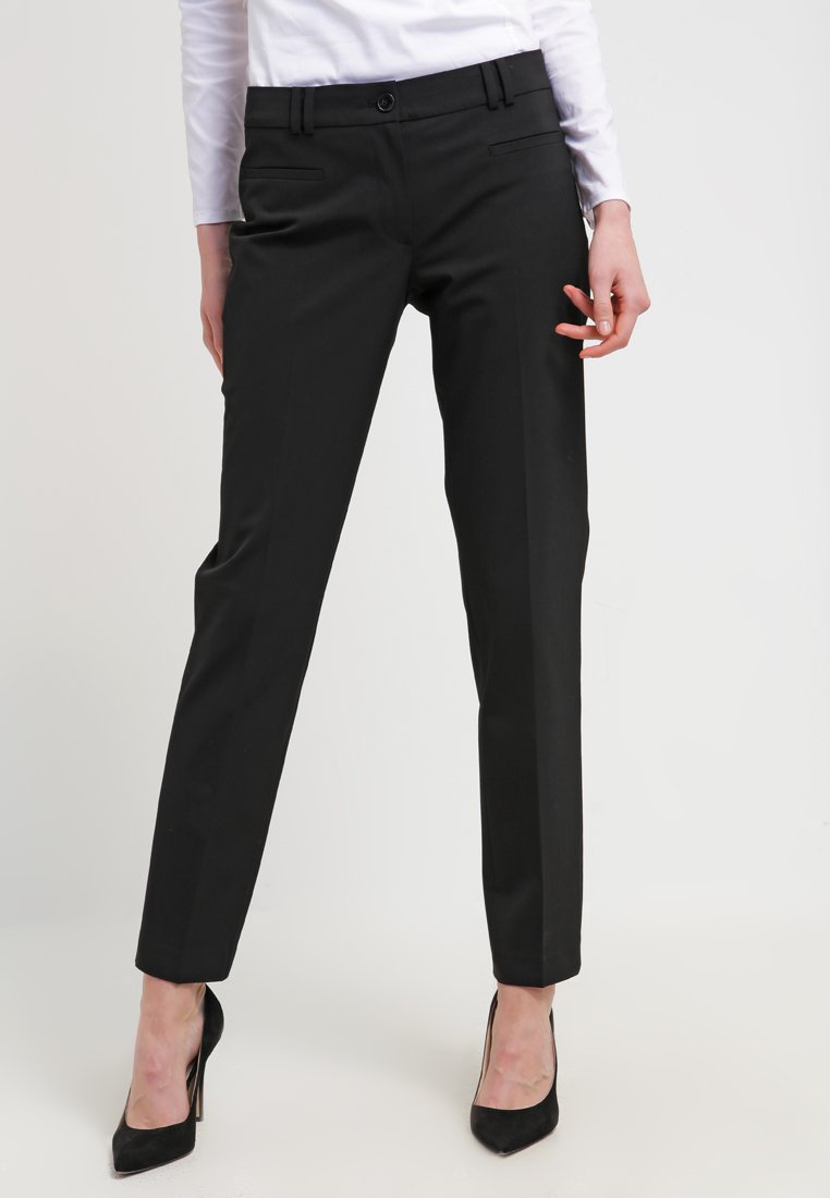 More & More - HEDY - Trousers - schwarz