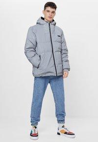Bershka - Winter jacket - silver - 1