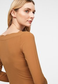 comma - Long sleeved top - tobacco - 5