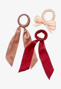 Stradivarius - 3 PACK - Hair styling accessory - red - 2