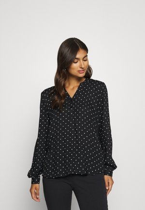 JOYCE BLOUSE - Blouse - black/white