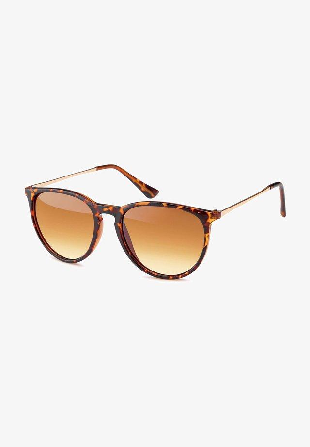 Sunglasses - gestell braun demi / glas braun verlauf