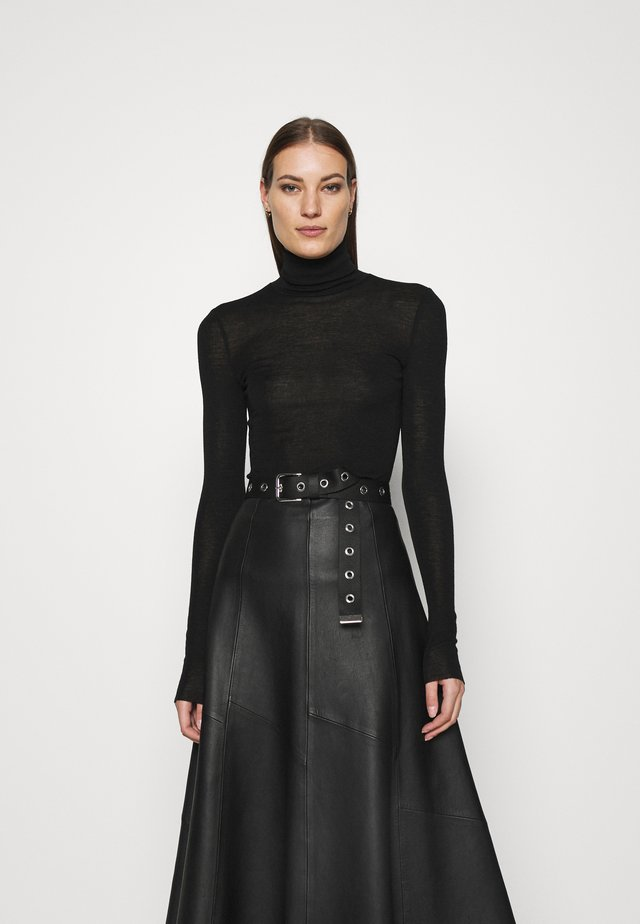 Turtleneck - Jumper - black dark
