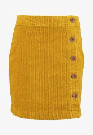 Wrap skirt - curry