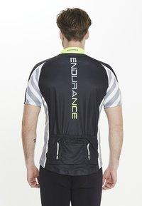 Endurance - RADTRIKOT PARMER M CYCLING - Print T-shirt - black - 2