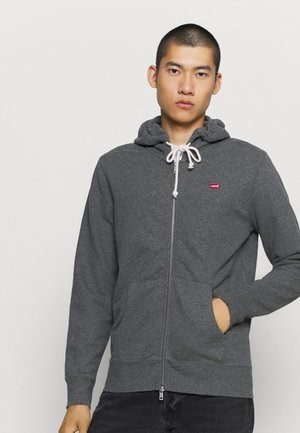 NEW ORIGINAL ZIP UP - Hoodie met rits - charcoal heather