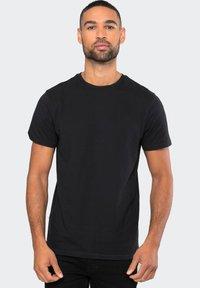 Threadbare - THREADBARE T-SHIRT BASIC 5ER PACK - Basic T-shirt - mehrfarbig - 0