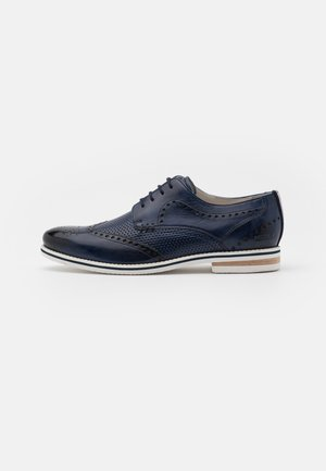 SCOTT 2 - Casual lace-ups - navy