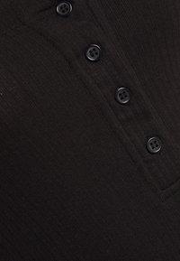 Missguided - LETTUCE EDGE BODYSUIT 2 PACK - Top - black/white - 10