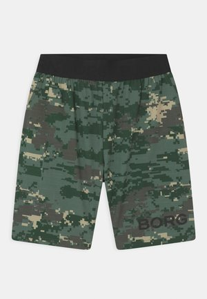 UNISEX - Sports shorts - duck green