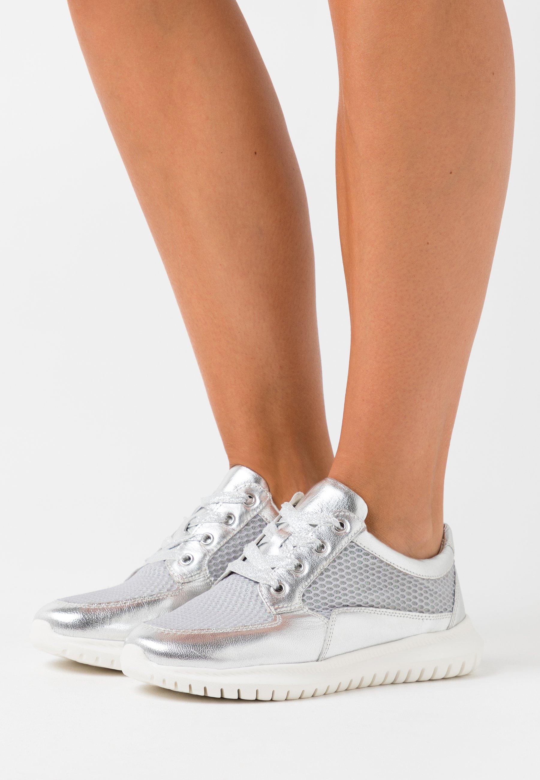 Caprice Sneakers lt khaki knit Zalando.se