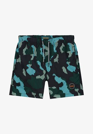 BOYS SWIMSHORT CAMOUFLAGE - Swimming shorts - cilantro
