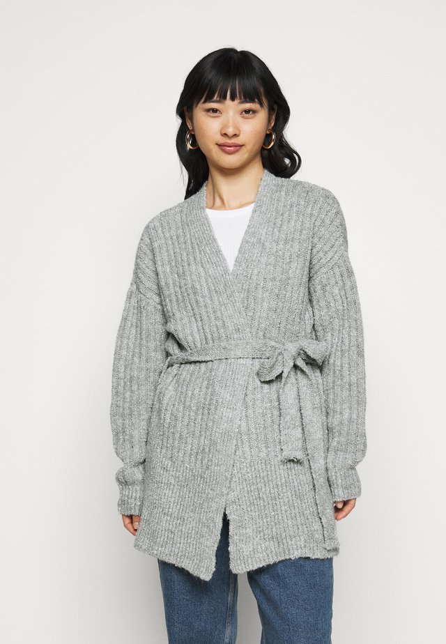 COZY  - Cardigan - grey