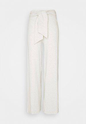 ALOE TROUSERS - Trousers - grey melange