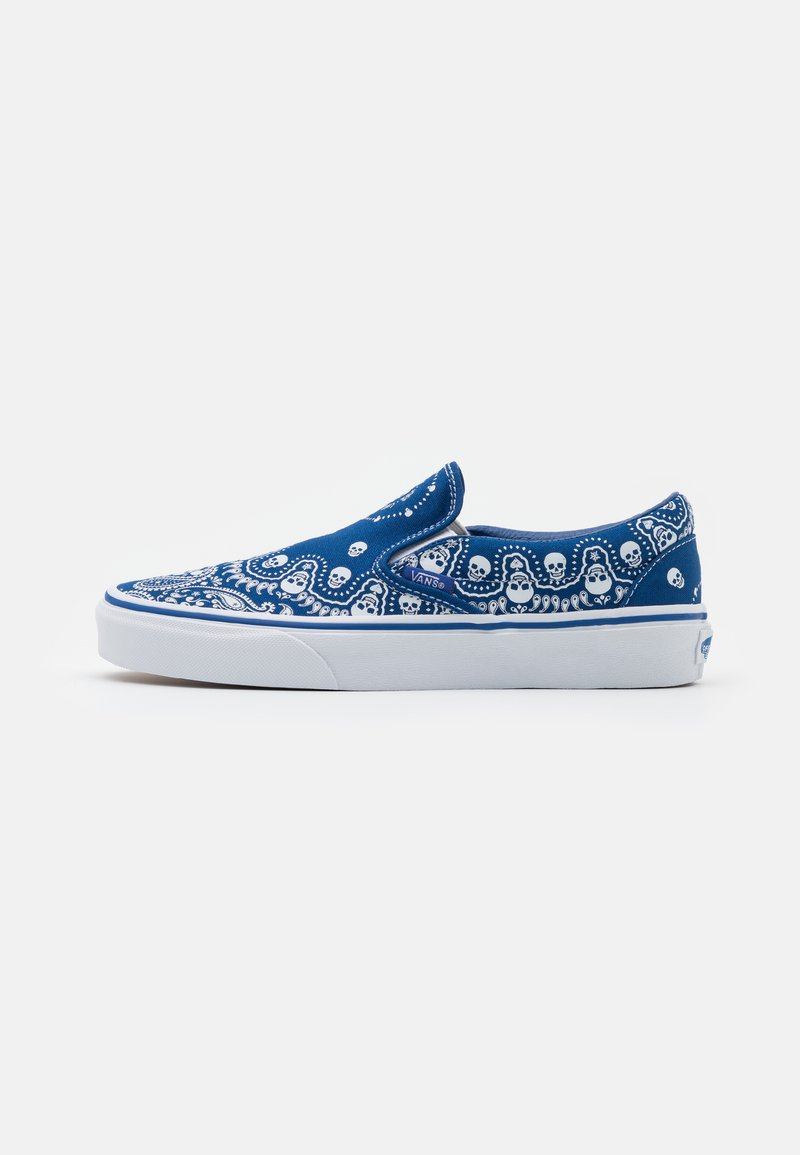 Vans - CLASSIC SLIP-ON UNISEX - Slip-ons - true blue/true white