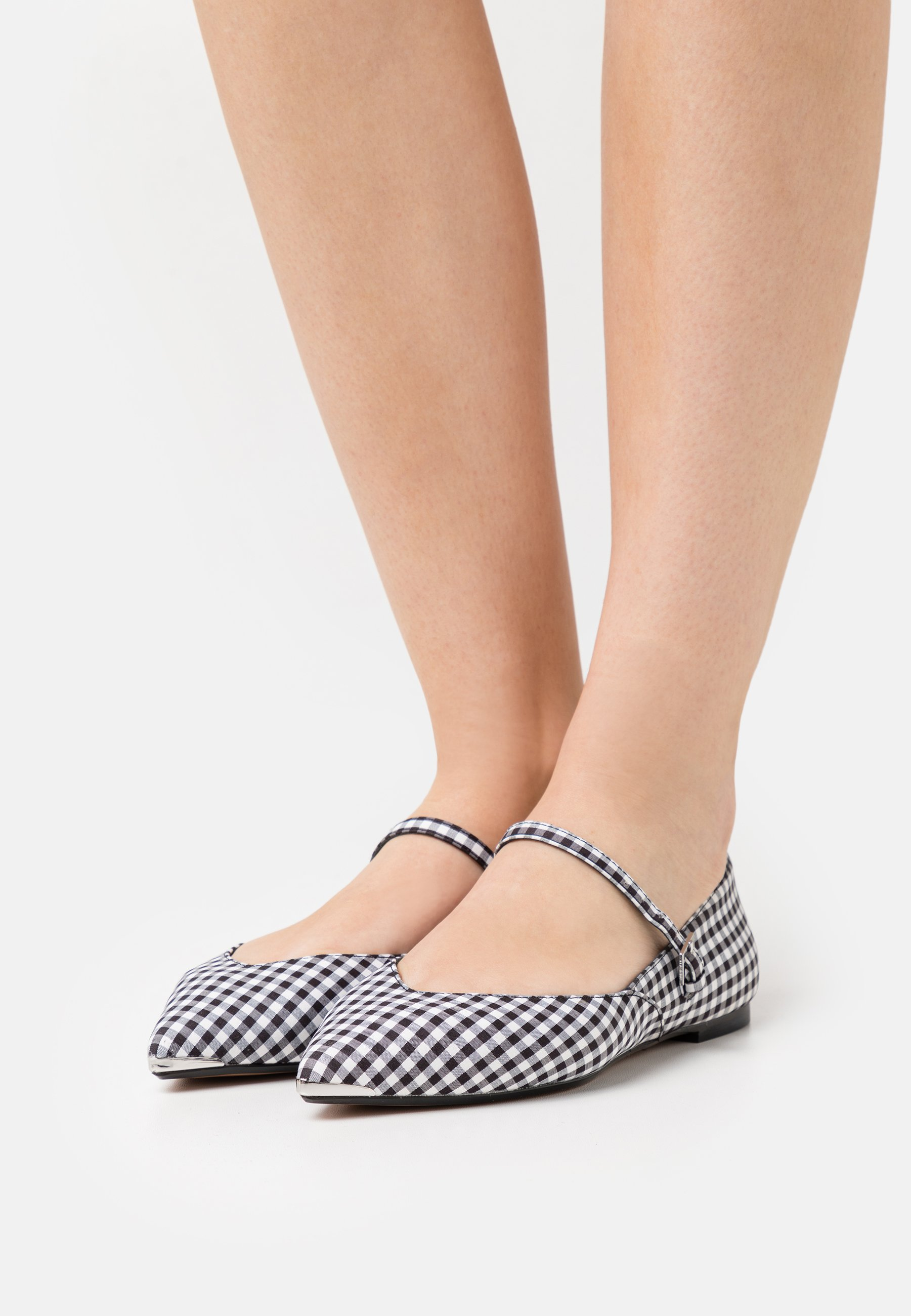 Women HUJIG - Ankle strap ballet pumps