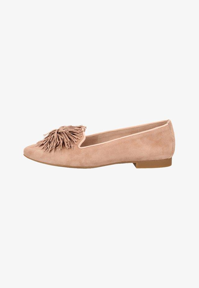 Nazouvací boty - rosé