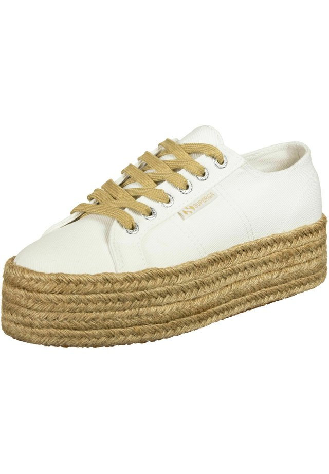 Trainers - white natural