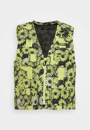 DAISY VEST - Chaleco - yellow/multi