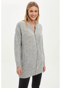 DeFacto - Cardigan - grey - 0