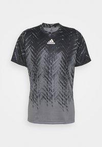 adidas Performance - TEE - Camiseta estampada - grey five - 3