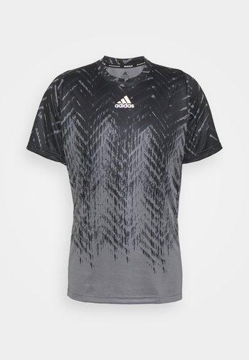 TEE - Print T-shirt - grey five