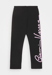 Versace - SIGNATURE  - Leggings - Trousers - black/rose - 0
