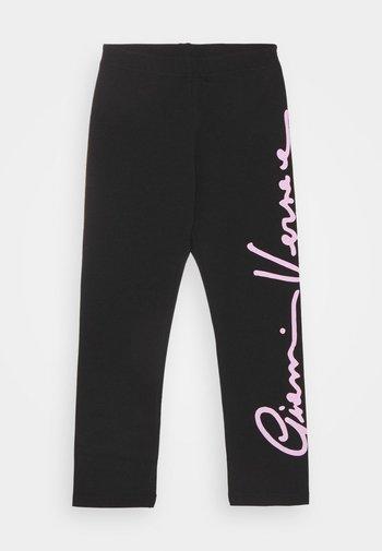 SIGNATURE  - Leggings - Trousers - black/rose
