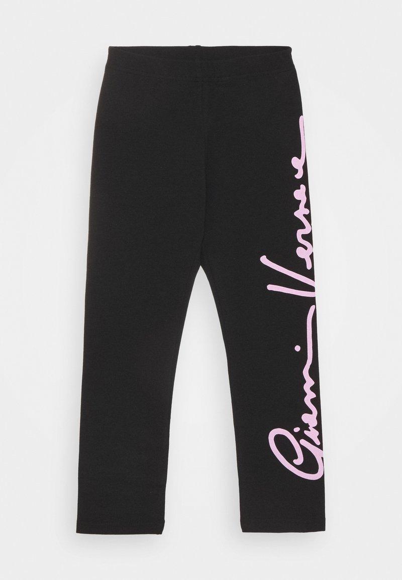 Versace - SIGNATURE  - Leggings - Trousers - black/rose