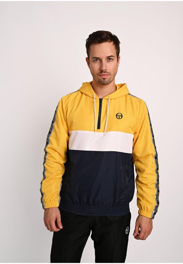 BELUSHI TRACKTOP - Veste de survêtement - yellow