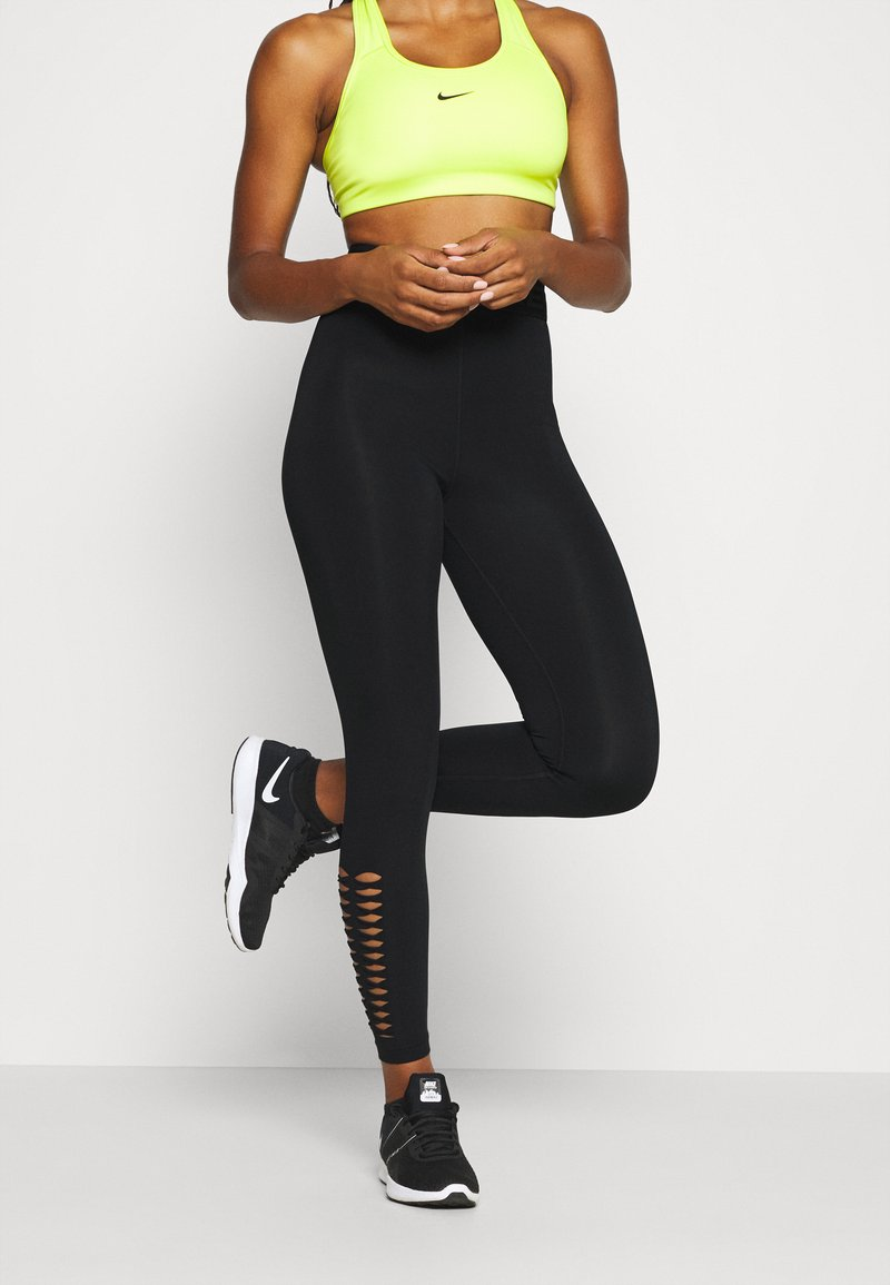 Nike Performance - Tights - black/dark smoke grey