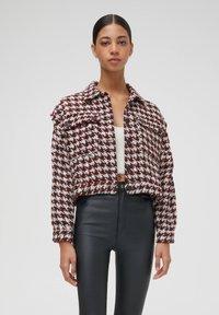 PULL&BEAR - Light jacket - bordeaux - 0