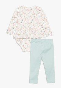 Carter's - FLORAL BABY SET - Leggings - multi-coloured - 1