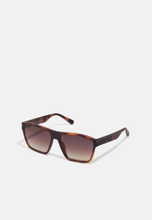 UNISEX - Occhiali da sole - matte havana brown