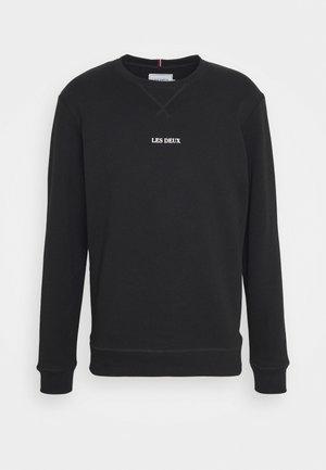 LENS - Sweatshirt - black/white